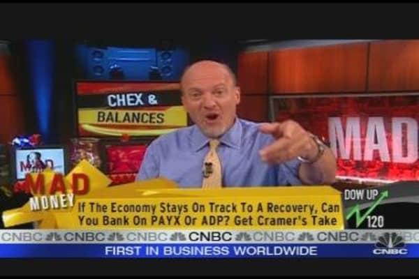 Cramer's Chex & Balances