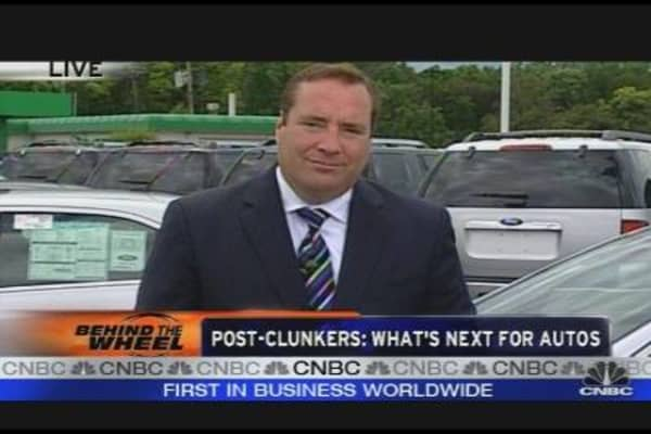 End of the Road for Cash for Clunkers Program