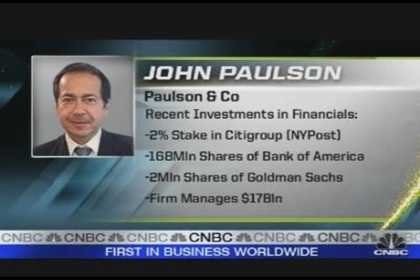 Paulson Replacing Buffett?