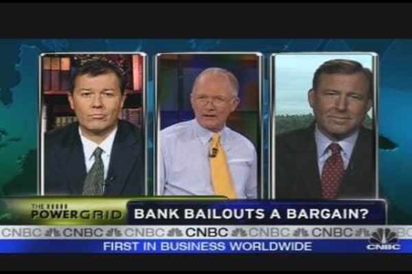 Bank Bailouts a Bargain?