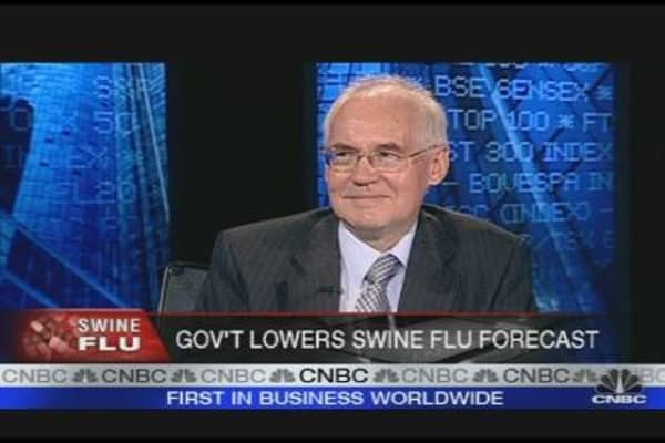 Swine-Flu Winter May be Mild