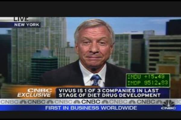 Vivus CEO on Experimental Diet Drug
