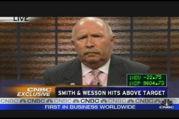 Smith & Wesson Hits Above Target