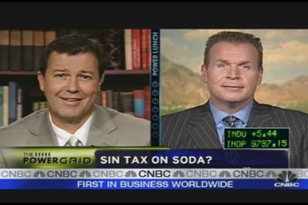 Soda Sin Tax: Good Idea?
