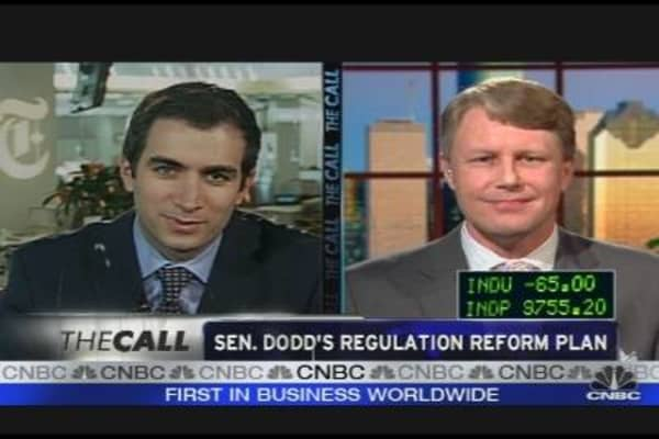 Parsing the Dodd Regulation Plan