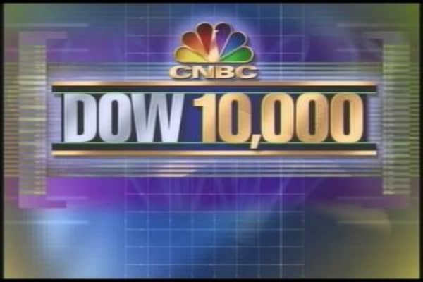 Flashback: Dow Closes Above 10k for First Time