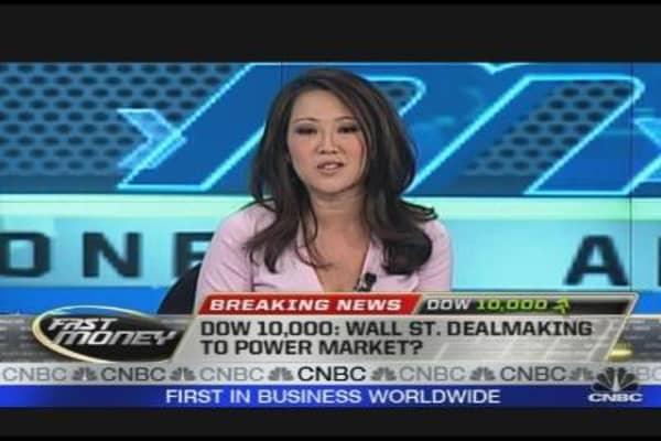 Dow 10,000: Dealmaking