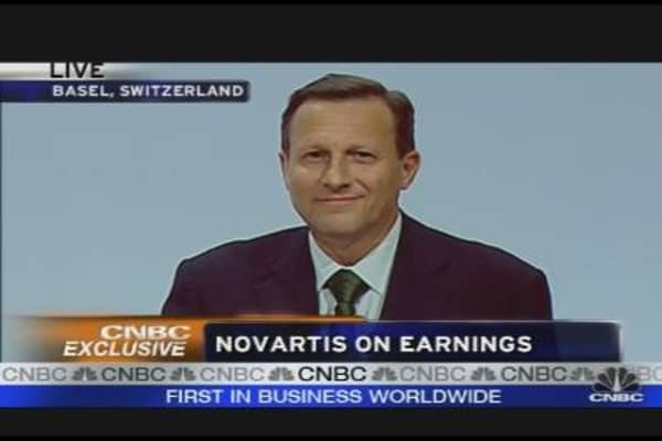 Novartis CEO on H1N1 Vaccine