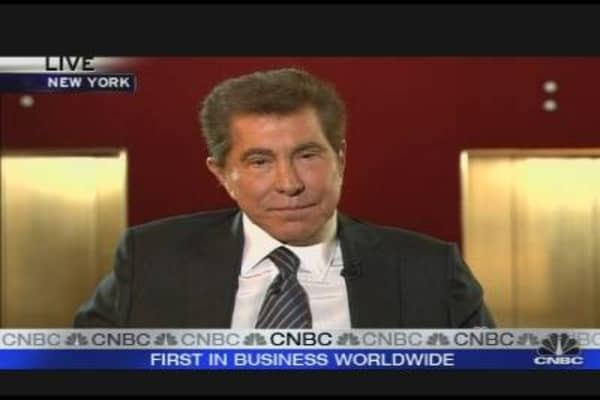 Steve Wynn on the Economy, Jobs & Hotels
