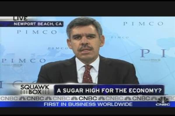 Pimco's El-Erian Shares Outlook