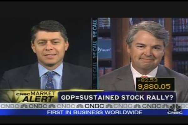 GDP = Sustained Stock Rally?