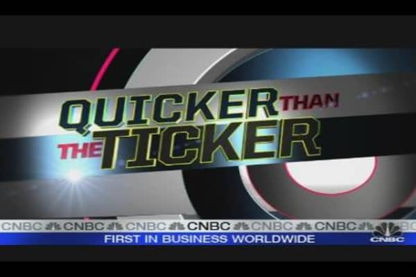 Quicker Than the Ticker