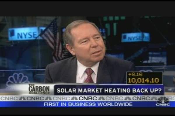 Solar Market Heating Back Up?