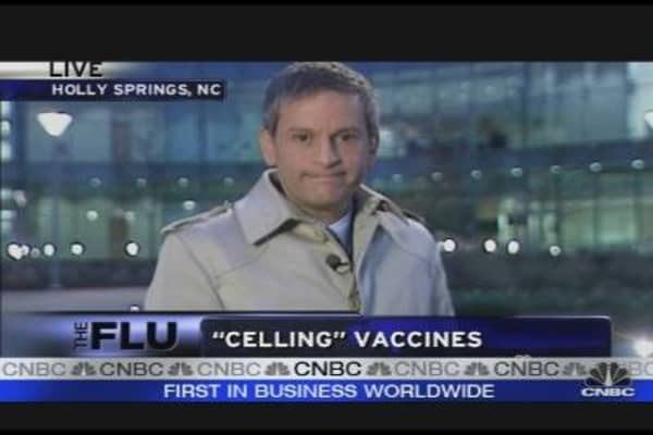 Novartis Opens 1st US Plant for Flu Vaccine