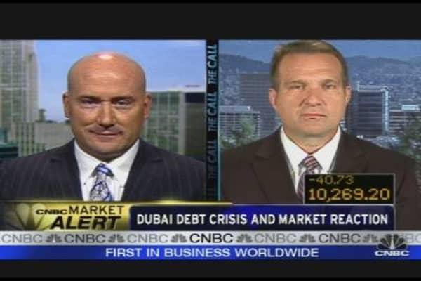 Trader Reaction to Dubai