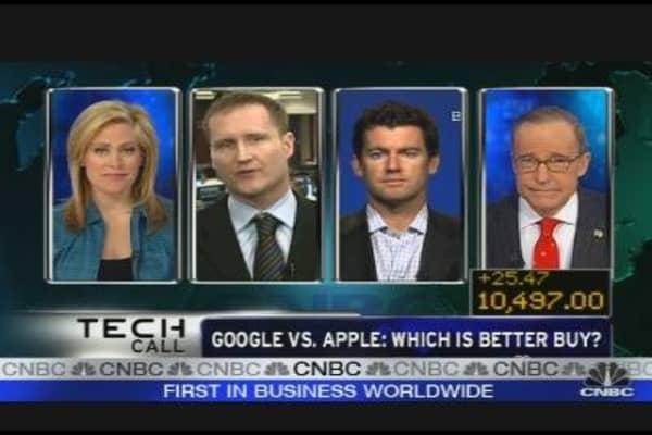 Google Invading More Apple Territory