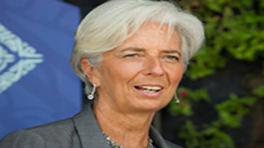 Christine Lagarde, IMF Managing Director