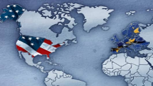 American Europe Map