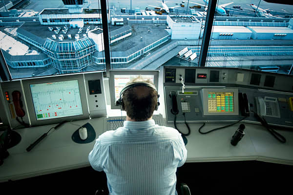 Average annual salary: $114,460Current employment: 23,580Air traffic controllers regulate air traffic in the vicinity of airports, managing the movement of aircraft between various altitudes and areas while following strict safety regulations. Qualifications to be an air traffic controller include completing an air traffic management degree from a Federal Aviation Administration (FAA) certified school, achieving a qualifying score on the FAA pre-employment test, and completing a training course