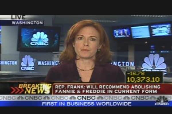 Breaking News: Bye Fannie, Bye Freddie?