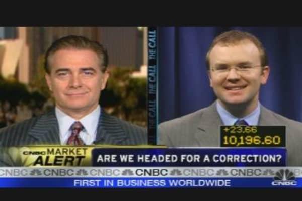 Market Correction Looming?