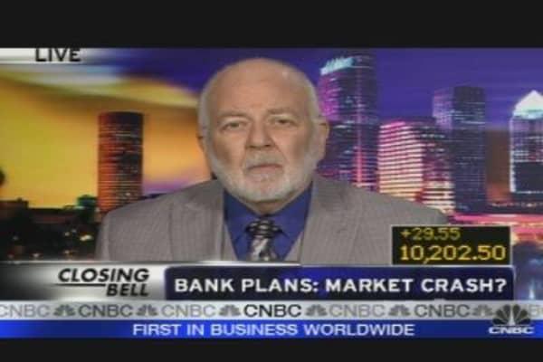 Bank Plans: Market Crash?