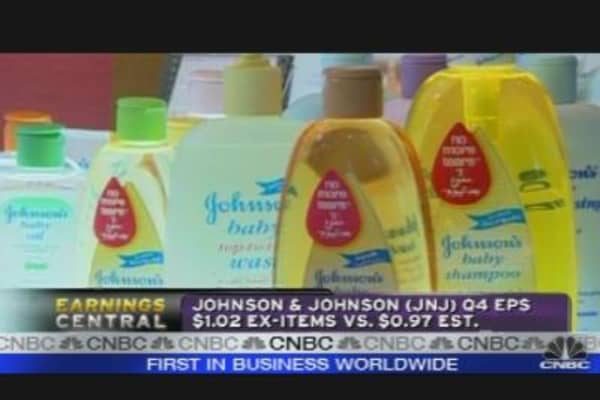 Parsing Johnson & Johnson's Quarterly Results