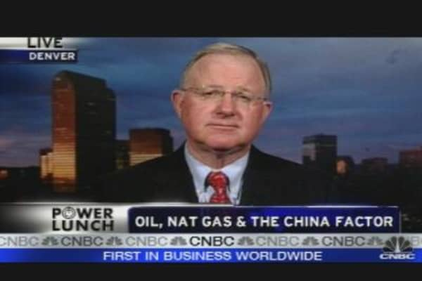 Oil, Nat Gas & China Factor