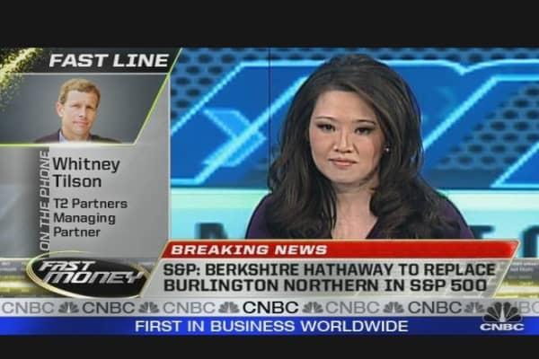 Berkshire to Replace Burlington in S&P