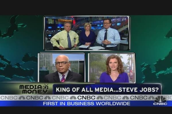 King of All Media: Steve Jobs?