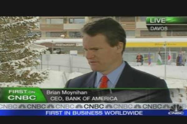 Bank of America Not Too Big: Moynihan