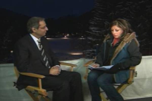 Citi's Pandit in Davos