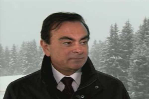 Carlos Ghosn, Renault-Nissan CEO