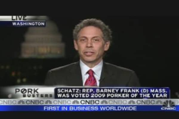 Barney Frank Porker of the Year