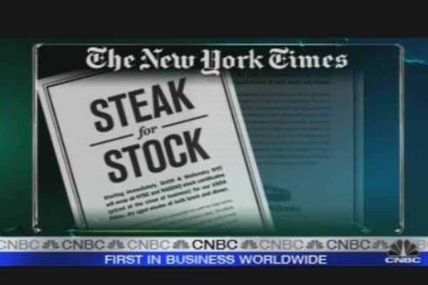 Steak for Stock