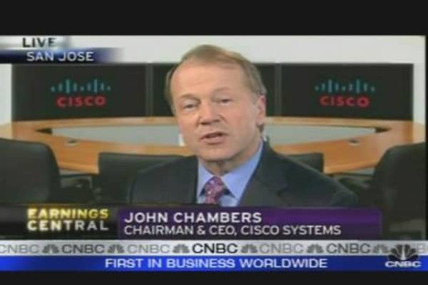 Cisco CEO Sees Strong Recovery