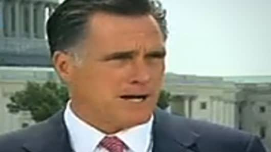 Mitt Romney response to Supreme Court health care ruling.