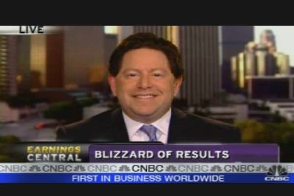 Activision CEO on Earnings & Outlook