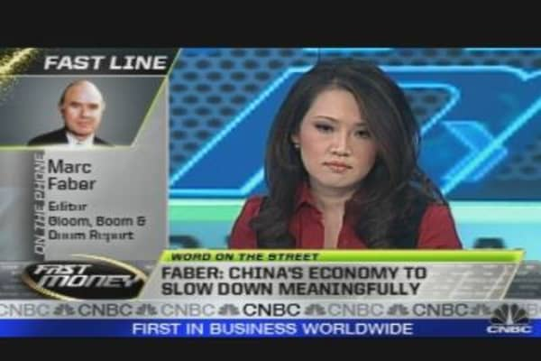 Gloom & Doom for China?