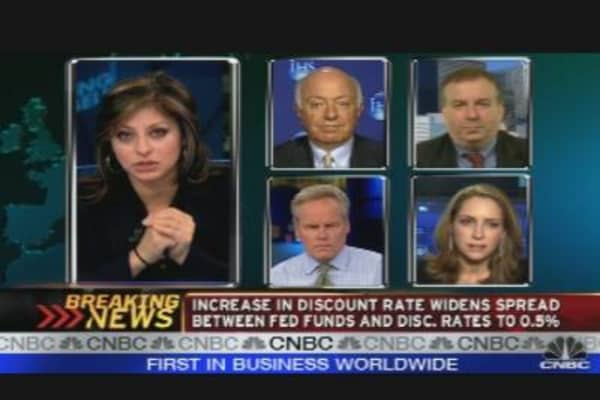 Gross on Fed Discount Rate Hike