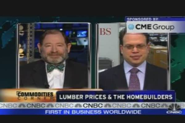 Lumber Prices & Homebuilders