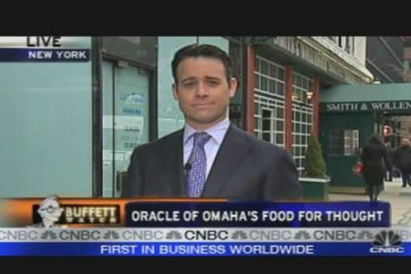 Oracle of Omaha's Food for Thought