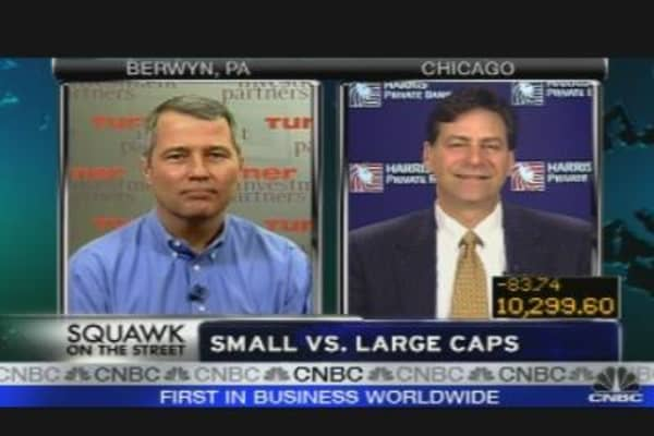 Small Caps vs. Large Caps