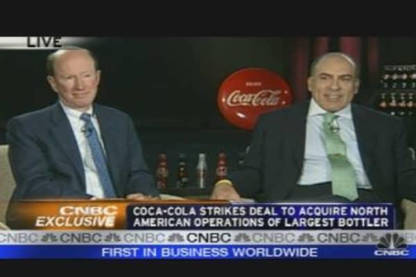 Coca-Cola CEO on Bottler Deal