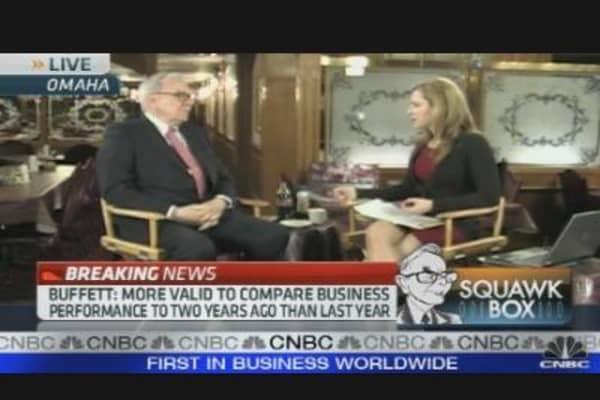 Buffett on Banks, Earthquakes & More