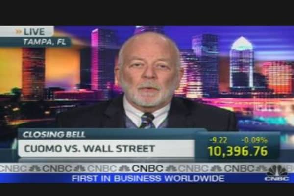 Cuomo vs. Wall Street