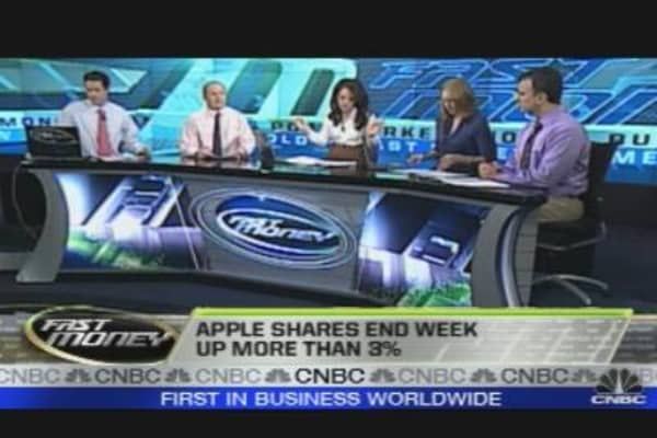 Apple: Select Tech Higher?