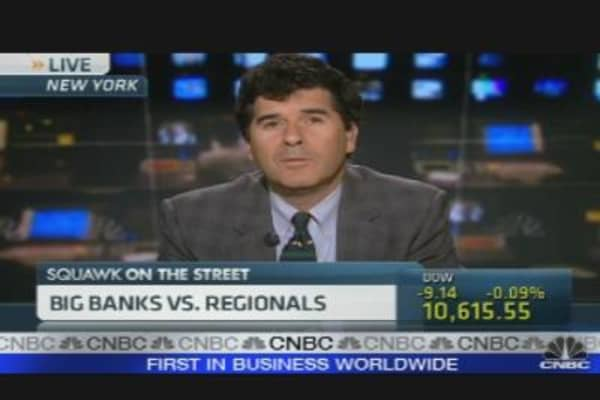 Big Banks vs. Regional Banks