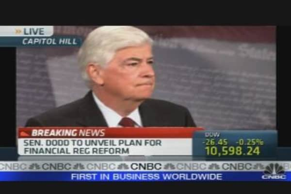 Dodd Unveils Fin Reg Bill