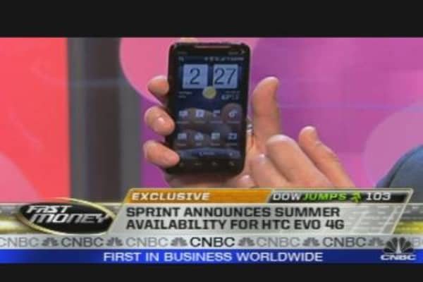 Exclusive: First Look At Sprint's 4G Phone